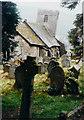 SO2923 : St Martin's church, Cymyoy in 1987 by John Baker