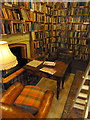 """NX4355 : A cosy corner of """"The Bookshop"""", Wigtown by Oliver Dixon"""
