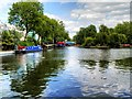 TQ2681 : Little Venice, Browning's Pool by David Dixon