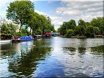 TQ2681 : Little Venice, Browning's Pool by David Dixon