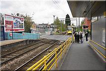 SJ7788 : Tram coming into Navigation Road Metrolink Station by Bill Boaden