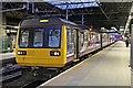 SJ8399 : Northern Rail Class 142, 142036, platform 3, Manchester Victoria railway station by El Pollock