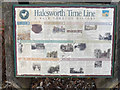 TM3877 : Halesworth Time Line sign by Adrian Cable