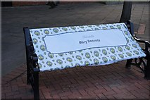 TA0827 : Bench dedicated to Mary Denness by Ian S