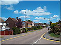 TQ6295 : Long Ridings Avenue, Shenfield by Malc McDonald