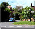 ST6332 : Old-style signpost in Castle Cary by Jaggery