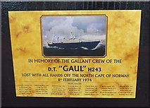 TA0827 : In memory of the gallant crew of the Gaul by Ian S