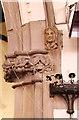 TQ2880 : Christ Church, Down Street, Mayfair - Stonework by John Salmon