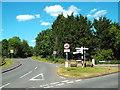 TQ5999 : Road junction at Hook End, near Doddinghurst by Malc McDonald