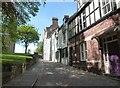 NZ2742 : Dun Cow Lane, Durham by Derek Voller