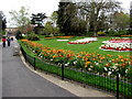 SP3165 : Colourful part of Jephson Gardens, Royal Leamington Spa by Jaggery