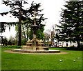 SP3165 : Hitchman Fountain, Royal Leamington Spa by Jaggery