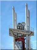 SJ8097 : Liftbridge Mechanism, Lowry Bridge by David Dixon
