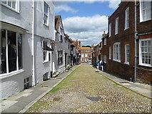 TQ9220 : West Street, Rye by Marathon