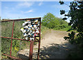 TQ5174 : Garbage Gate by Des Blenkinsopp