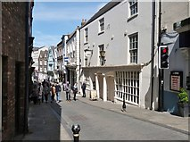 NZ2742 : Saddler Street, Durham.  Looking South by Derek Voller