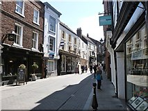 NZ2742 : Saddler Street,  Durham. Looking North by Derek Voller