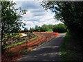 SP3300 : Reonstruction of access road to Rushey Weir & Lock, near Tadpole Bridge, Oxon by P L Chadwick