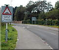 ST1686 : Humps for 200 yards on the approach to Caerphilly Park & Ride by Jaggery