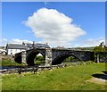 SH7961 : Pont Fawr from the grounds of Tu-Hwnt-i'r-Bont by Gerald England