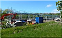 NS3978 : New workshops under construction by Lairich Rig