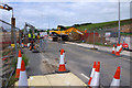 SD4764 : Slyne Road construction work (A6) by Ian Taylor