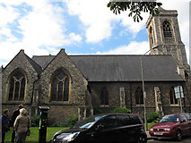TQ2772 : Holy Trinity, Upper Tooting: north side by Stephen Craven