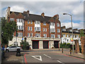 TQ2772 : Fire station, Trinity Road, Upper Tooting by Stephen Craven