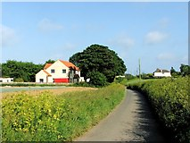 TR3451 : Northbourne Road, Great Mongeham by Chris Whippet