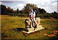 SJ2530 : Cerflun Janus Sculpture by Alan Richards