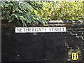 TM3390 : Nethergate Street sign by Adrian Cable