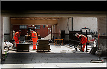 SD8912 : Rochdale Station:  Re-opening the subway by Dr Neil Clifton