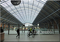 TQ3083 : St Pancras railway station by Thomas Nugent