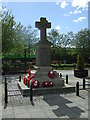 NZ3252 : War Memorial,  Shiney Row by JThomas