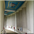 SU9971 : Air Forces memorial: colonnade by Stephen Craven