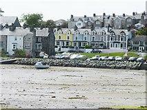 SH5637 : Houses in Borth y Gest by Christine Johnstone