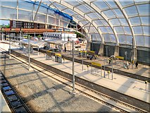 SJ8499 : Redevelopment of Metrolink Platforms at Victoria Station (June 2015) by David Dixon