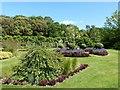SU8403 : Rymans - Ornamental flower beds and lawn by Rob Farrow