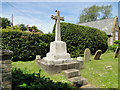 TF7043 : The War Memorial at Holme-next-the-Sea by Adrian S Pye