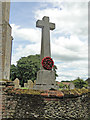 TF7225 : Hillington War Memorial by Adrian S Pye