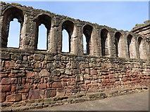 NS6859 : Great Hall windows, Bothwell Castle by kim traynor