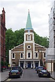 TQ2880 : Grosvenor Chapel, South Audley Street, Mayfair by Julian Osley