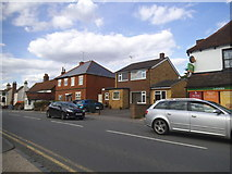 SU7167 : Basingstoke Road, Three Mile Cross by David Howard