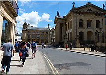 SP5106 : The Bodleian Library on Broad Street, Oxford by Mat Fascione