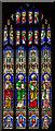 TF0607 : Stained glass window, St Michael's church, Uffington by Julian P Guffogg
