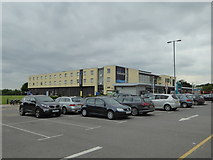 SK4625 : Travelodge motel at Donnington Park Services by Rod Allday