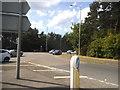 SU8566 : Roundabout on Nine Mile Ride, Bracknell by David Howard