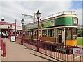 SY2490 : Spic  and  span  tramcar  at  Seaton  Electric  Tramway  Station by Martin Dawes