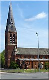 SU8651 : Garrison Church of St Michael and St George, Aldershot by Jim Osley