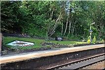 SD6205 : Garden, Hindley railway station by El Pollock